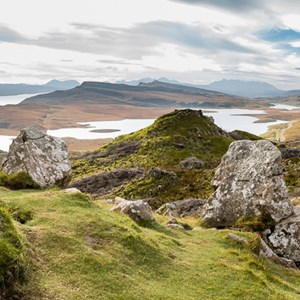 2016-10-16 - Imposant landschap<br/>Old Man of Storr - Trotternish - Schotland<br/>Canon EOS 5D Mark III - 24 mm - f/8.0, 1/40 sec, ISO 200