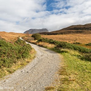 2016-10-19 - Wandelpad<br/>Wandeling rond Cow Hill - Fort William - Schotland<br/>Canon EOS 5D Mark III - 24 mm - f/8.0, 1/125 sec, ISO 200