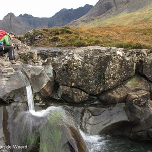 2016-10-16 - Stromend water fotograferen is altijd leuk<br/>Fairy Pools - Glennbrittle - Schotland<br/>Canon PowerShot SX1 IS - 5 mm - f/8.0, 0.1 sec, ISO 80