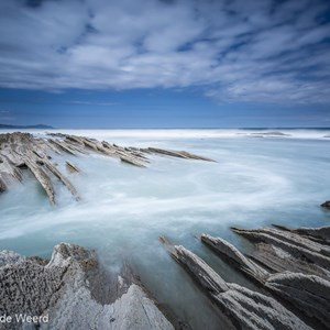 2015-05-06 - Flysch<br/>Flysch formaties - Zumaia - Spanje<br/>Canon EOS 5D Mark III - 16 mm - f/16.0, 20 sec, ISO 100