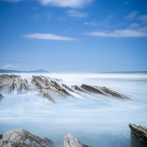 2015-05-06 - Flysch<br/>Flysch formaties - Zumaia - Spanje<br/>Canon EOS 5D Mark III - 35 mm - f/16.0, 46 sec, ISO 100