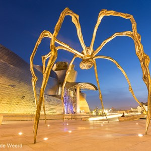2015-05-08 - De spin Maman, van Louise Bourgeois<br/>Guggenheim museum - Bilbao - Spanje<br/>Canon EOS 5D Mark III - 16 mm - f/8.0, 25 sec, ISO 200