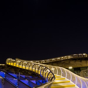 2017-05-06 - Metropol Parasol - stairway to the moon<br/>Metropol Parasol - Sevilla - Spanje<br/>Canon EOS 5D Mark III - 24 mm - f/9.0, 20 sec, ISO 200