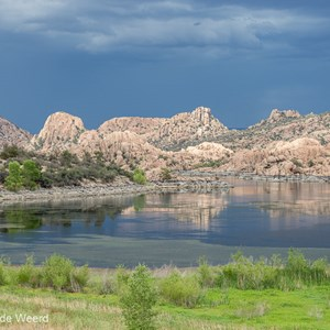 2014-07-08 - Onweer achter Watson Lake / Granite Dells<br/>Watson Lake Park - Granite Dells - Prescott - Verenigde Staten<br/>Canon EOS 5D Mark III - 95 mm - f/8.0, 1/160 sec, ISO 200