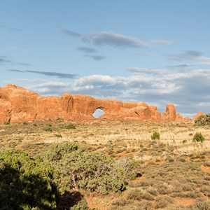 2014-07-10 - North Window, South Window en Turret Arch<br/>Arches National Park - Moab - Verenigde Staten<br/>Canon EOS 5D Mark III - 57 mm - f/11.0, 0.01 sec, ISO 200