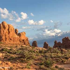 2014-07-10 - In het warme zonlicht<br/>Arches National Park - Moab - Verenigde Staten<br/>Canon EOS 5D Mark III - 44 mm - f/8.0, 0.01 sec, ISO 200