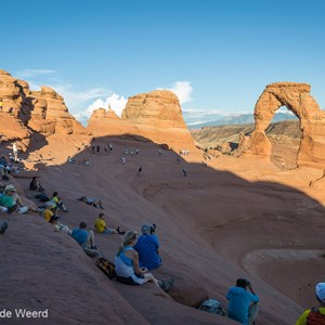 2014-07-11 - We waren er niet alleen...<br/>Arches National Park - Moab - Verenigde Staten<br/>Canon EOS 5D Mark III - 24 mm - f/11.0, 1/60 sec, ISO 100