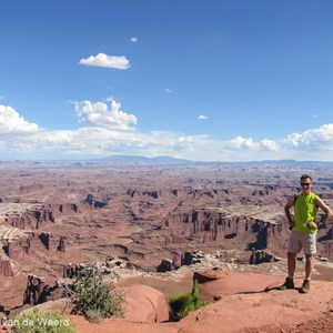 2014-07-12 - Wouter aan de rand<br/>Canyonlands National Park (Islan - Moab - Verenigde Staten<br/>Canon PowerShot SX1 IS - 5 mm - f/4.0, 1/800 sec, ISO 80