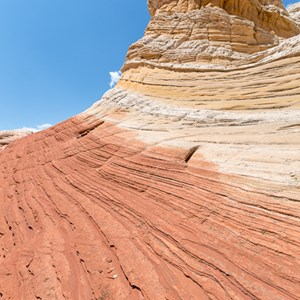 2014-07-17 - Rood, geel, wit<br/>White Pocket (Paria Canyon) - Kanab - Verenigde Staten<br/>Canon EOS 5D Mark III - 16 mm - f/11.0, 0.01 sec, ISO 100