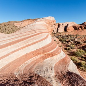 2014-07-20 - Fire Wave<br/>Valley of Fire State Park - Overton<br/>Canon EOS 5D Mark III - 16 mm - f/11.0, 1/200 sec, ISO 100
