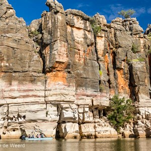 2011-07-17 - Boottocht over de rivier<br/>Geiki Gorge - Fitzroy Crossing - Australie<br/>Canon EOS 7D - 24 mm - f/4.0, 1/2500 sec, ISO 400