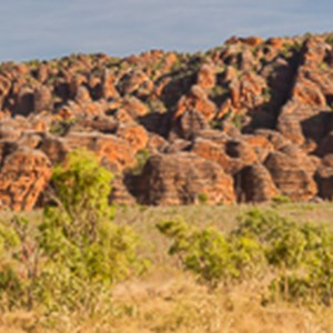 2011-07-19 - Panorama van de Bungle Bungle Range<br/>Piccaninny Gorge - Pernululu National Park (Bungle  - Australië<br/>Canon EOS 7D - 70 mm - f/8.0, 1/200 sec, ISO 200