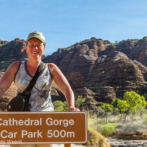 2011-07-19 - Op naar Cathedral Gorge<br/>Wandeling naar Cathedral Gorge - Pernululu National Park (Bungle  - Australië<br/>Canon EOS 7D - 35 mm - f/11.0, 0.02 sec, ISO 200