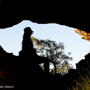 2011-07-24 - Silhouet<br/>Gurrandalng walk - Keep River National Park - Australië<br/>Canon EOS 7D - 82 mm - f/8.0, 1/125 sec, ISO 200